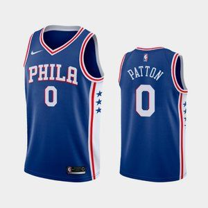 Philadelphia 76ers #0 Justin Patton Jersey